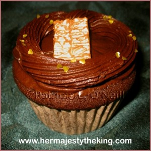 Ancient Egyptian chocolate cupcakes