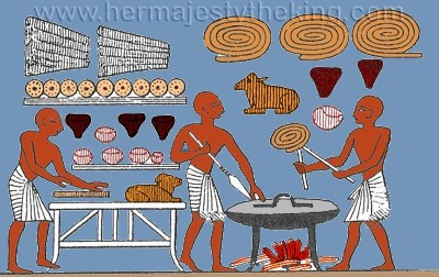 Ancient Egyptian Pastry Chefs