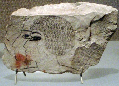 Senenmut double ostracon